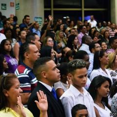 Culto da Família registra compromisso dos irmãos