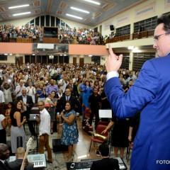 Pastor Samuel Ferreira visita AD em Marechal Hermes