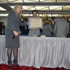 Pastora Keila recebe homenagem em Diadema