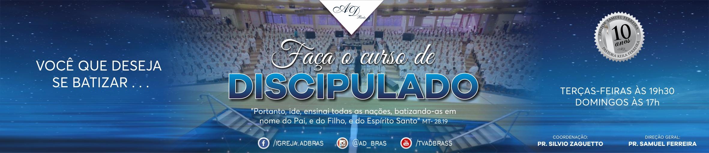 Discipulado para o Batismo
